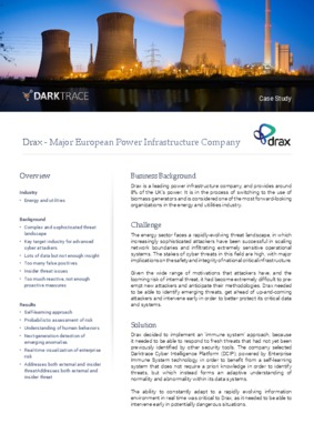 Drax Power Customer Case Study