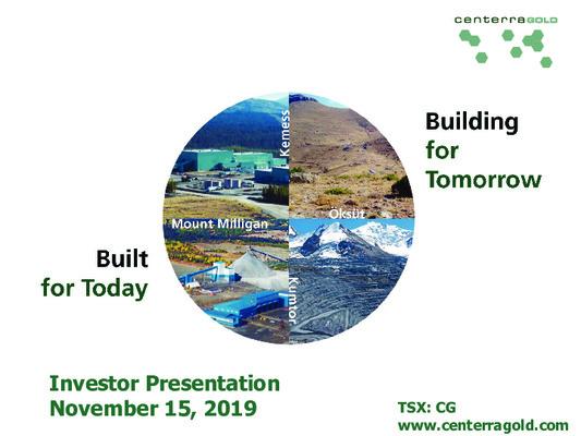 Premium Mining Spotlight: Centerra Gold
