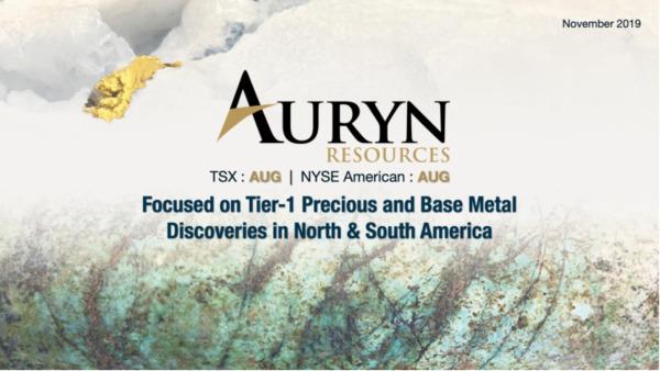 Mining Spotlight: Auryn Resources