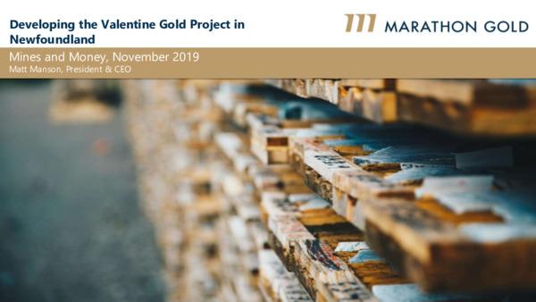 Mining Spotlight: Marathon Gold