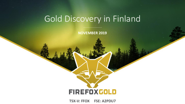 Mining Spotlight: Fire Fox Gold-Gold discovery in Finland