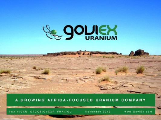 Mining Spotlight: Goviex Uranium