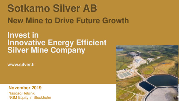 Mining Spotlight: Invest in New Silver Mine to Drive Future Growth