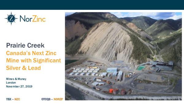 Mining Spotlight: NorZinc