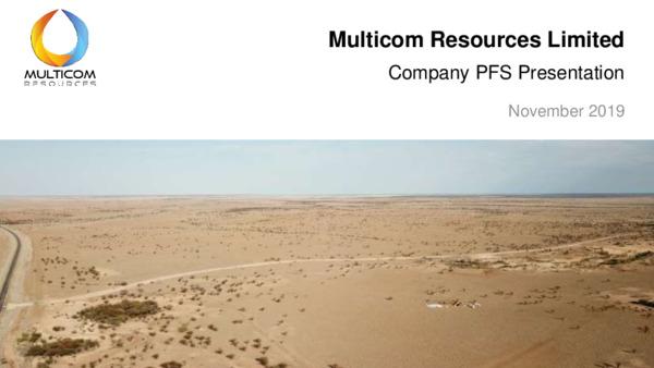 Mining Spotlight: Multicom Resources