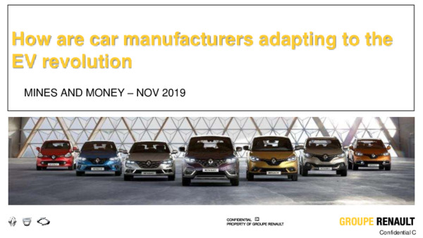 Keynote Address How are car manufacturers adapting to the EV revolution?