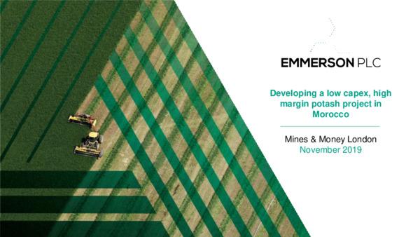 Mining Spotlight: Emmerson Resources