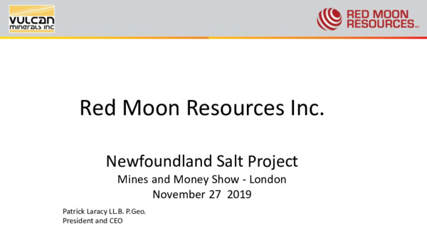 Mining Spotlight: Red Moon Resources