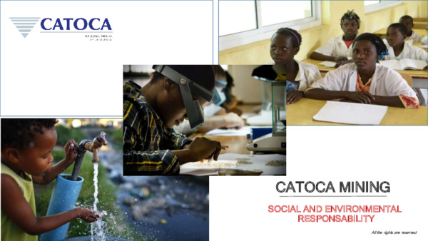 Keynote African Mining Spotlight: The Catoca experience in working with stakeholders in Angola
