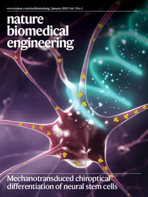 Mechanotransduced chiroptical differentiation of neural stem cells