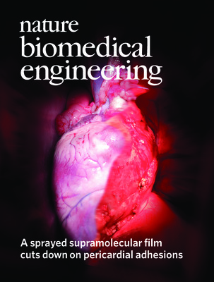 A sprayed supramolecular film cuts down on pericardial adhesions