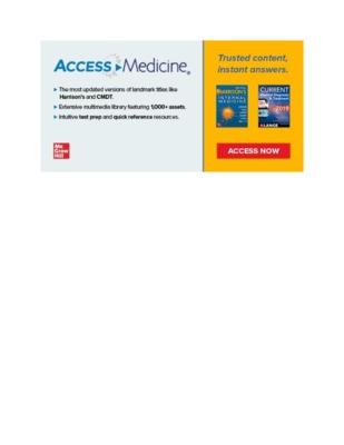 Banner Image – AccessMedicine