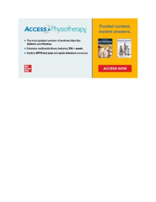 ​​Banner Image – AccessPhysiotherapy