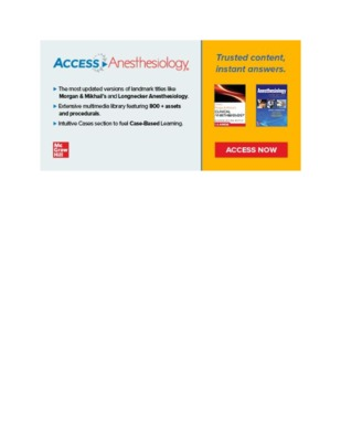 ​​Banner Image – AccessAnesthesiology​
