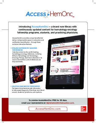 AccessHemOnc Flyer