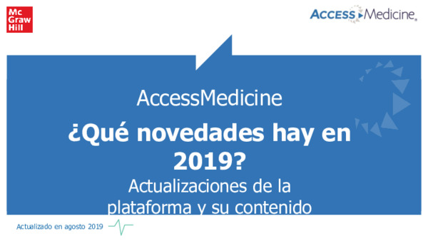 AccessMedicine - What's New - PowerPoint - SPANISH