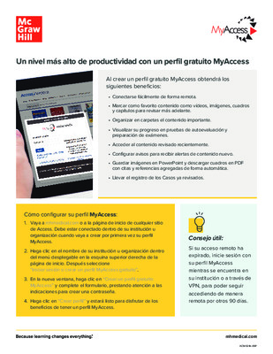 MyAccess Flyer - Espanol