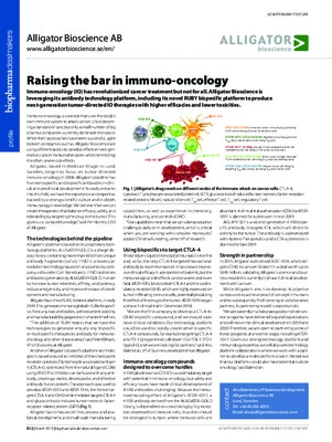 Raising the bar in immuno-oncology