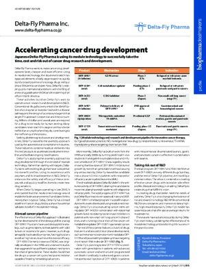 Accelerating cancer drug development