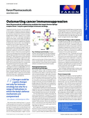Outsmarting cancer immunosuppression
