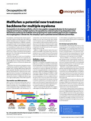 Melflufen: a potential new treatment backbone for multiple myeloma