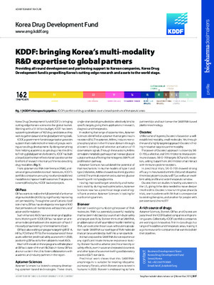 KDDF: bringing Korea's multi-modality R&D expertise to global partners