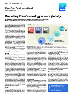 Propelling Korea's oncology science globally