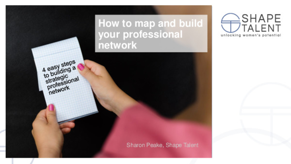 How to map and build your professional network