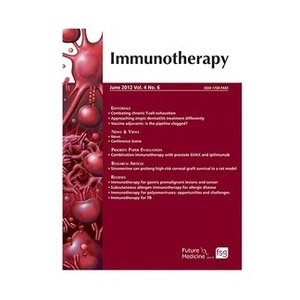 Go to the profile of Immunotherapy