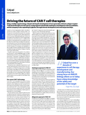Driving the future of CAR-T cell therapies