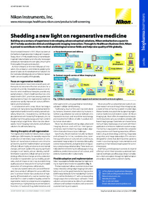 Shedding a new light on regenerative medicine