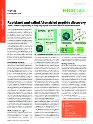 Rapid and unrivalled AI enabled peptide discovery