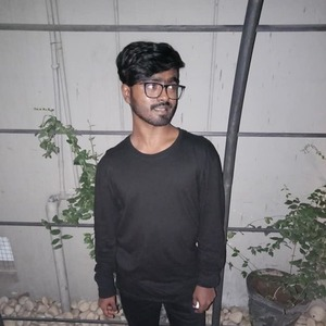 Medium man in black