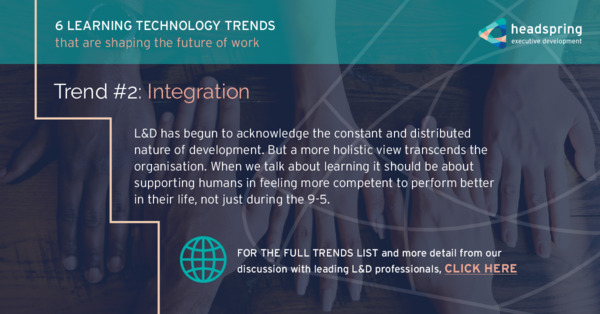 Learning Technology Trends Shaping the Future of Work