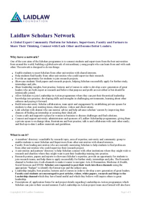 The Laidlaw Network: A Must-Read Guide
