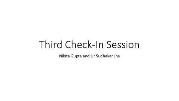 Third Check-In Nikita