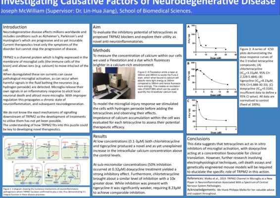 Joseph McWilliam - Investigating Causative Factors of Neurodegenerative Disease