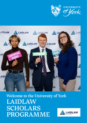 Laidlaw Scholarship; Cohort 5 Welcome Booklet
