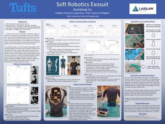 Soft Robotics Exosuit Poster