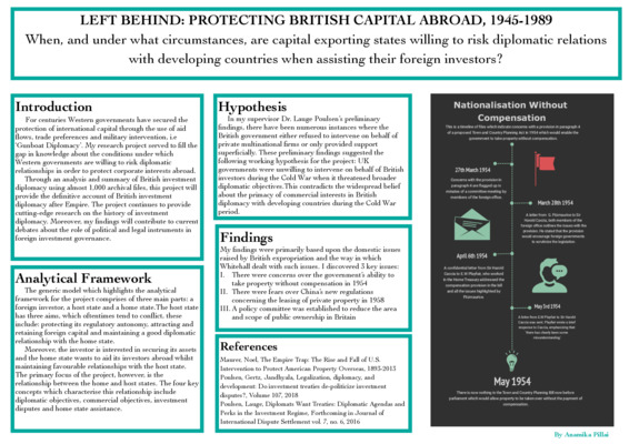Left Behind: Protecting British Capital Abroad, 1945-1989