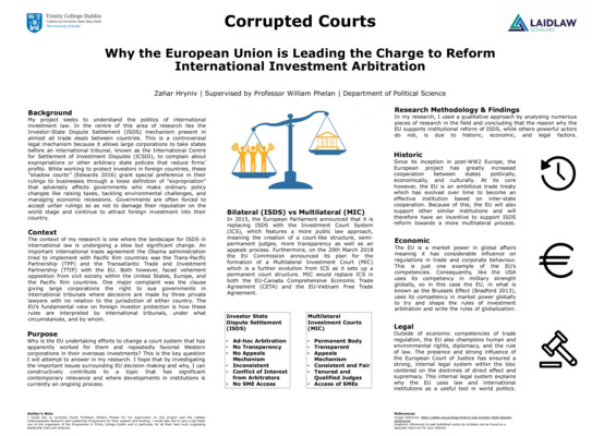 The Politics of International Investment Law
