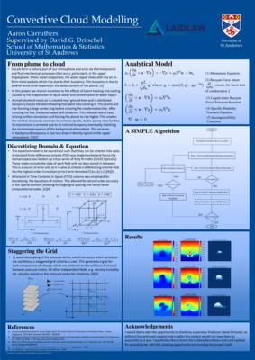 Convective Cloud Modelling - Research Poster