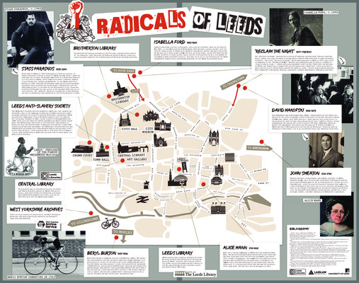 Mock-up Display: 'Leeds Radicals'