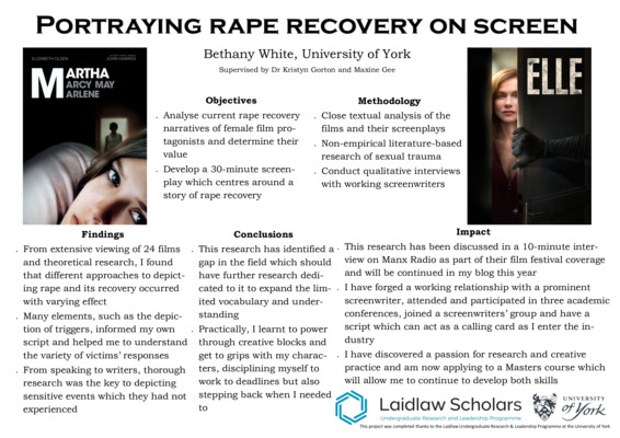 Portraying Rape Recovery on Screen