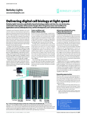 Delivering digital cell biology at light speed