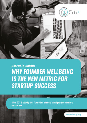 Why founder wellbeing is the new metric for startup success July 2019