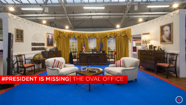 The Oval Office One Slider