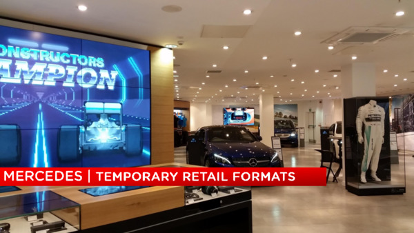 (2016-2018) MKTG Mercedes-Benz Temporary Retail Formats & Pop-up's