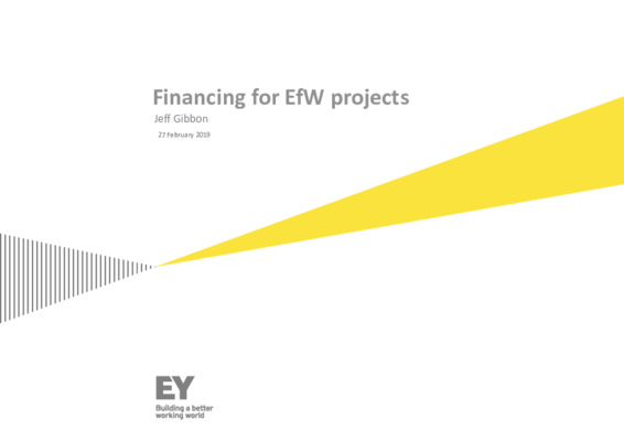 EfW 2019: Financing for EfW projects