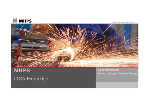 EfW 2019 Optimising O&M: LTSA expertise